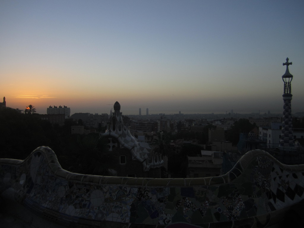 A true insider's tip on the best way to enjoy the Park Güell
