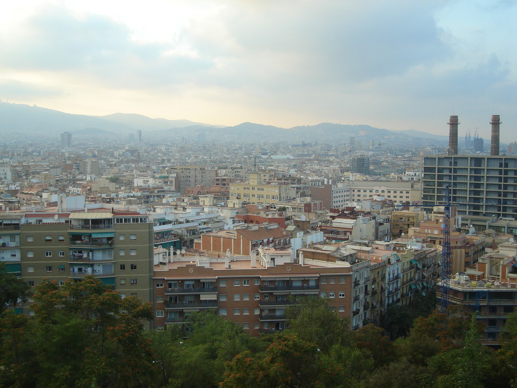 A view of all of Barcelona