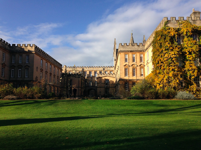 A virtual tour of New College, Oxford