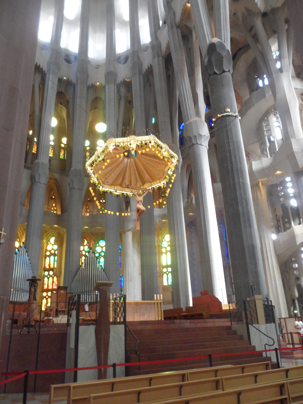 A visit to The Sagrada Familia