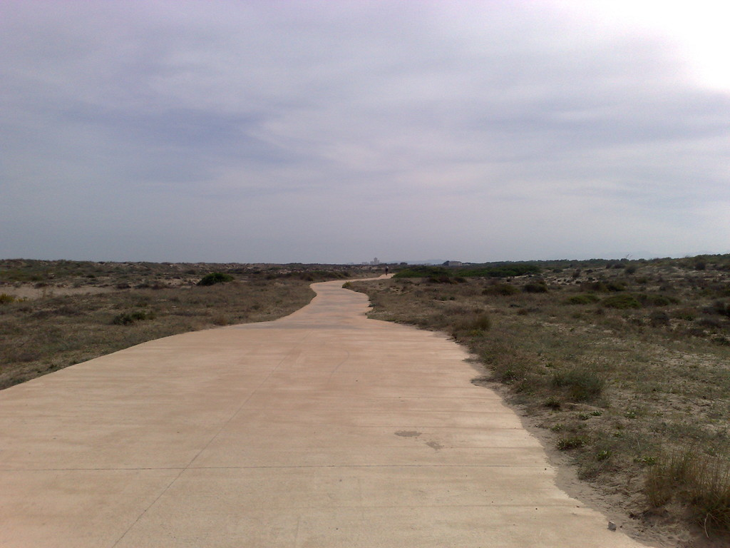 A walk around the different beaches south of Albufera