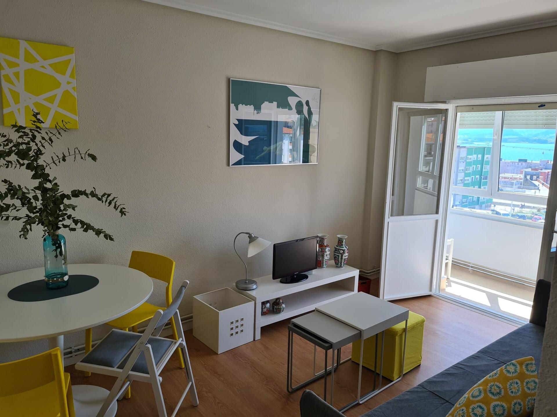 Habitacion luminosa , piso totalmente reformado en