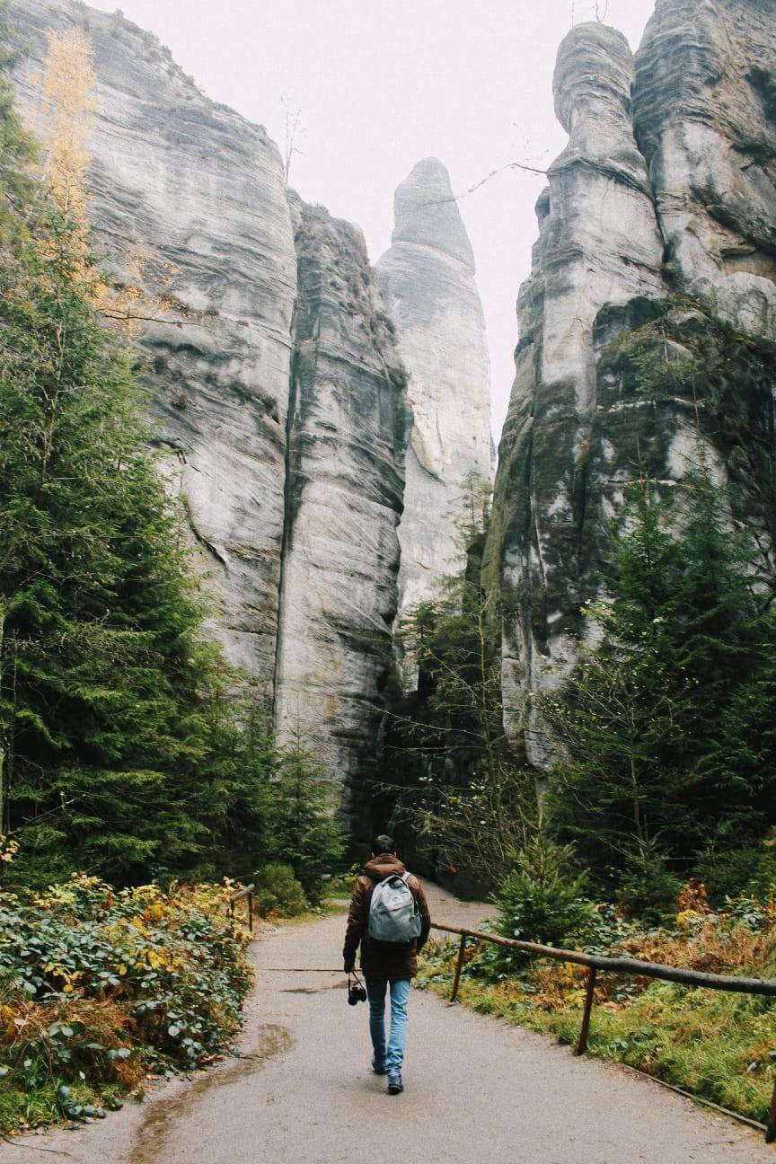 Adršpach, Parque Natural en la República Checa
