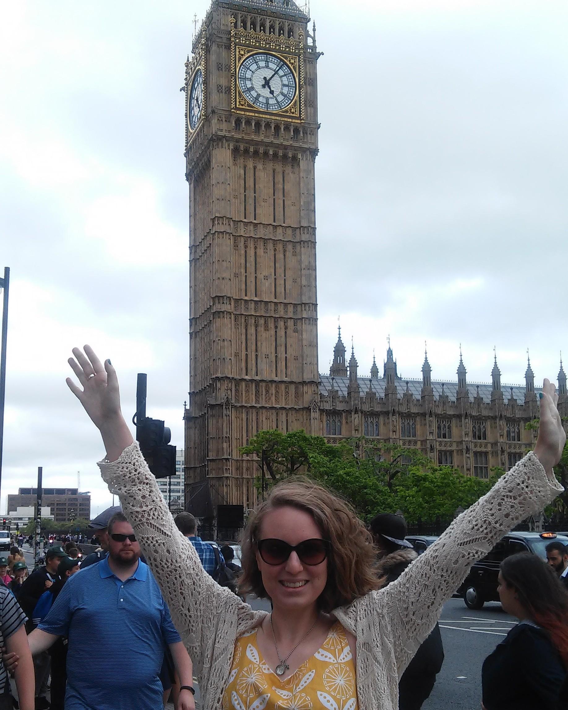 Alguns dias adoráveis em Londres!
