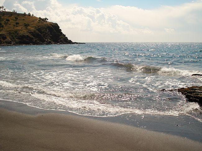 Almuñécar, praia de Granada