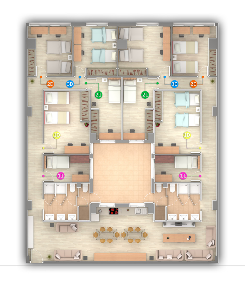 Alojamientos para estudiantes con todos los servicios for Residencia para estudiantes