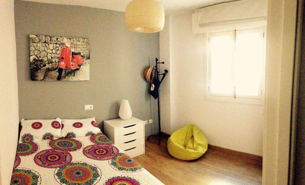 Alquiler habitaci n y sala de estudio con cama doble - Estudio palma de mallorca ...