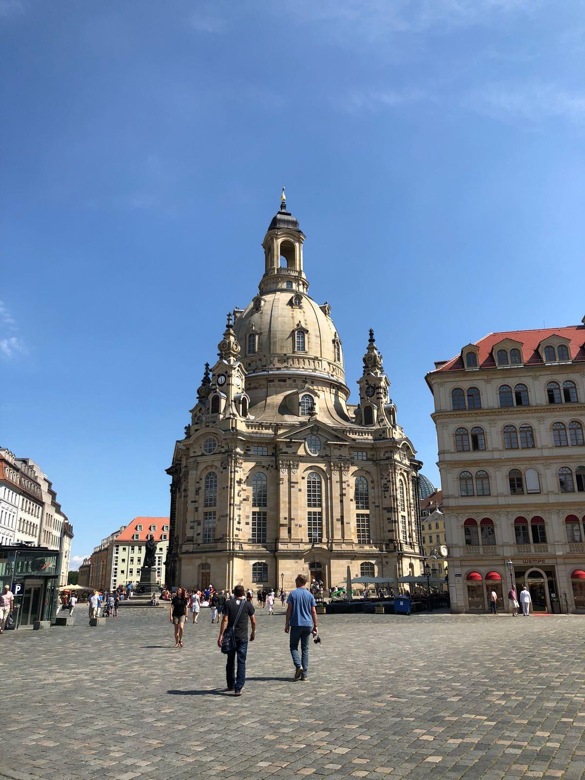 Amoureuse de Dresde
