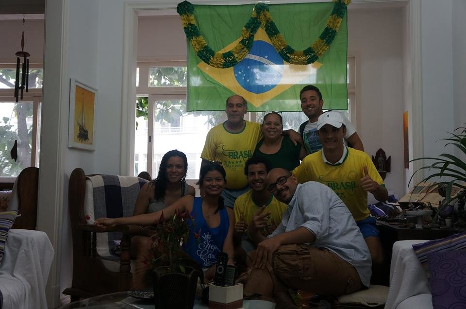 Amplo e arejado quarto em área nobre de Copacabana - Rio de Jane