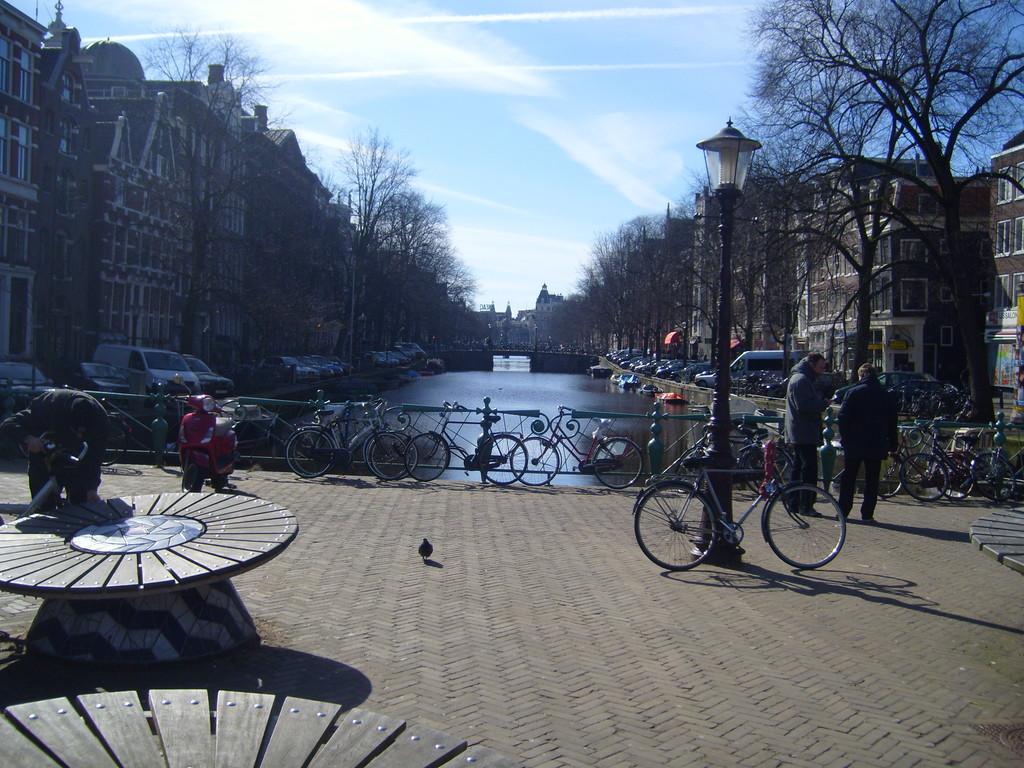Amsterdam - miasto świateł