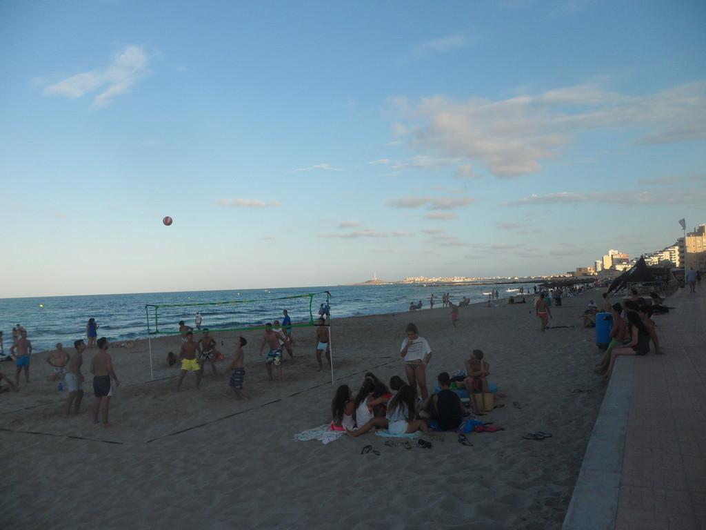 An idyllic beach