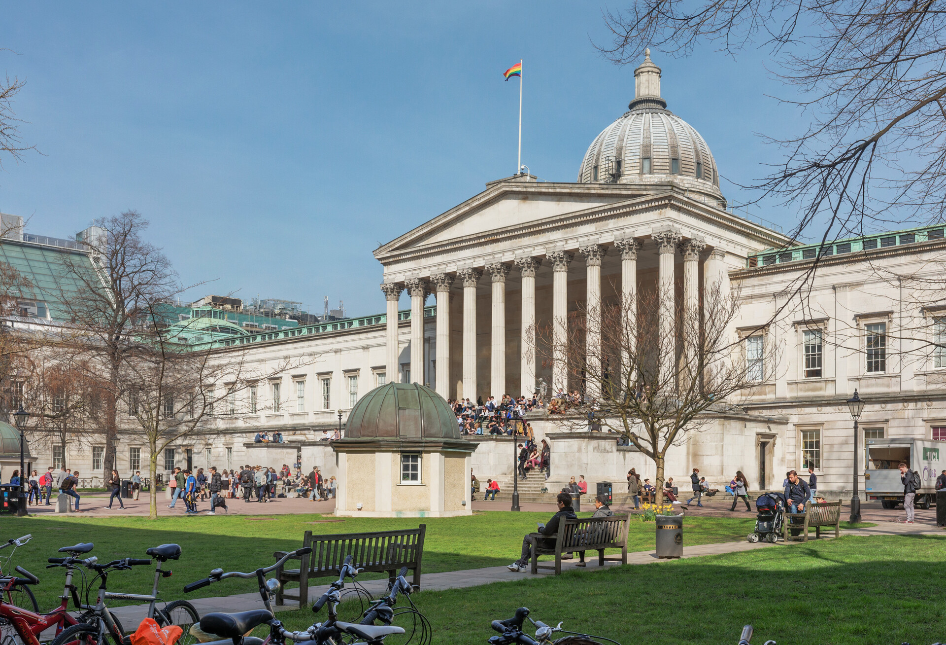 Angelica's experience at University College London, UK