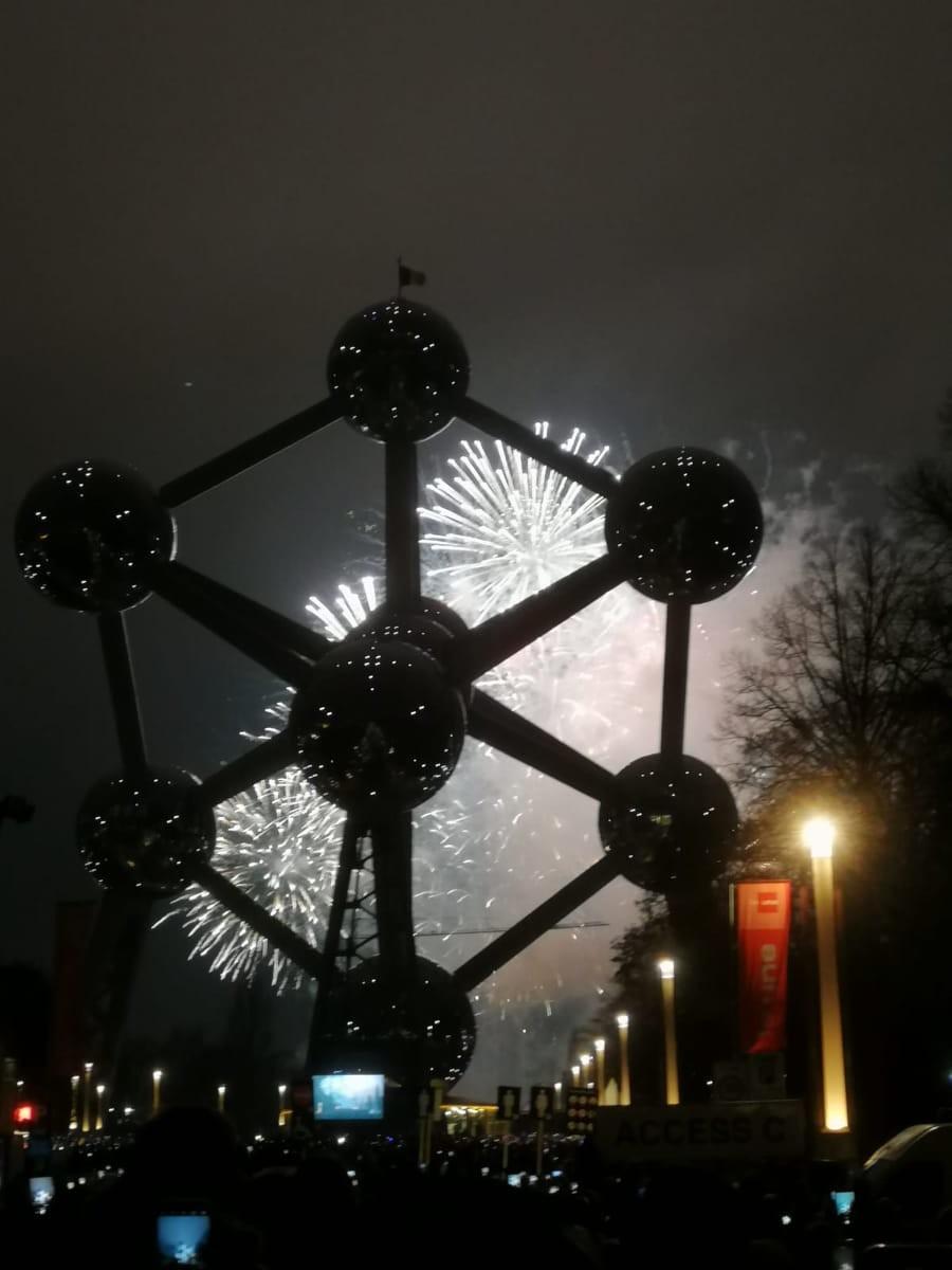 Ano Novo em Bruxelas
