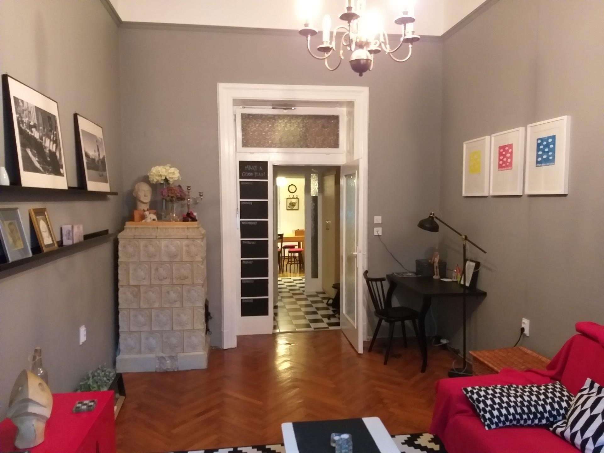 Apartment for 2 near center (Designer District)