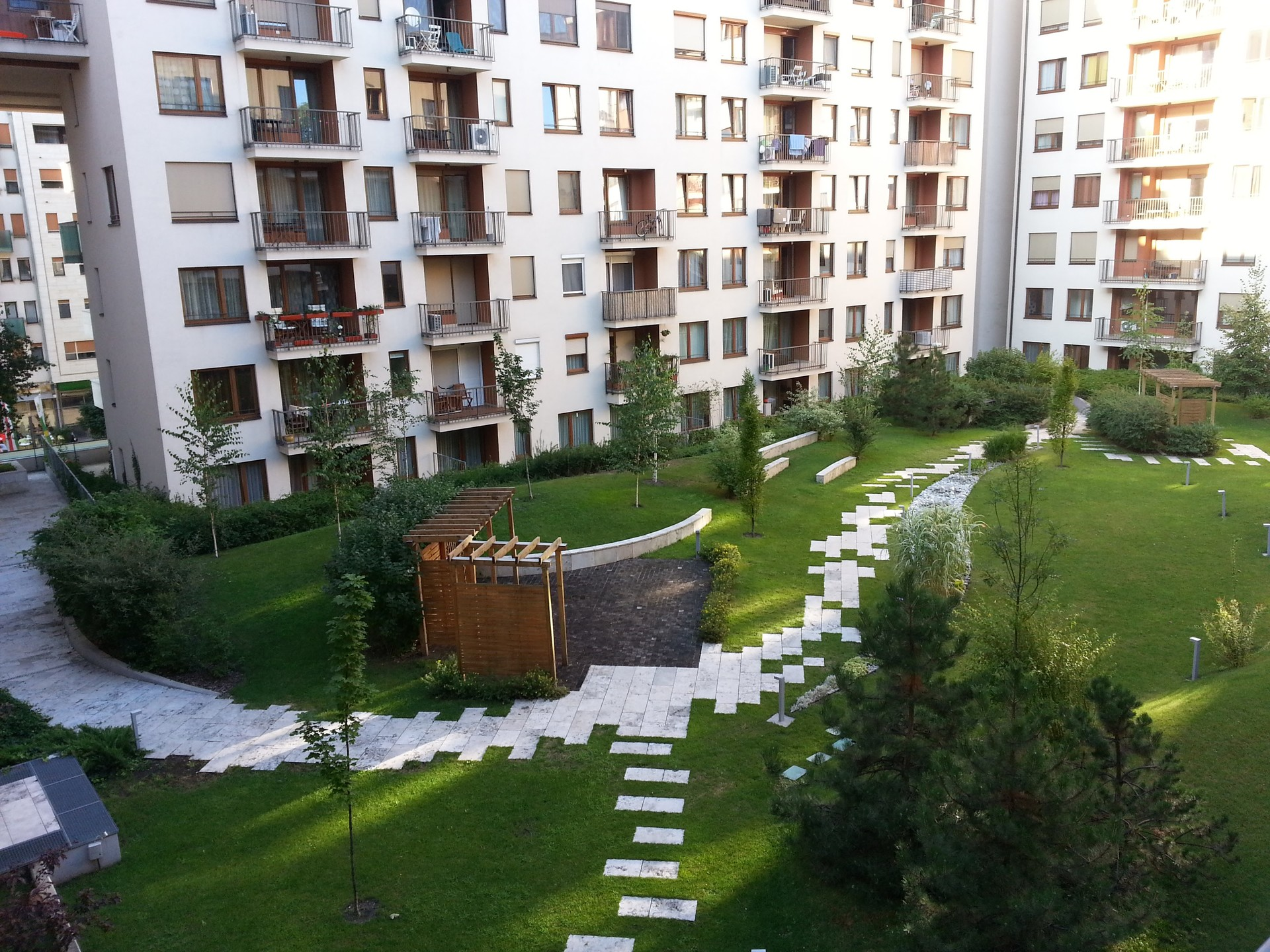 Apartment With Garden At Corvin Promenade Flat Rent Budapest