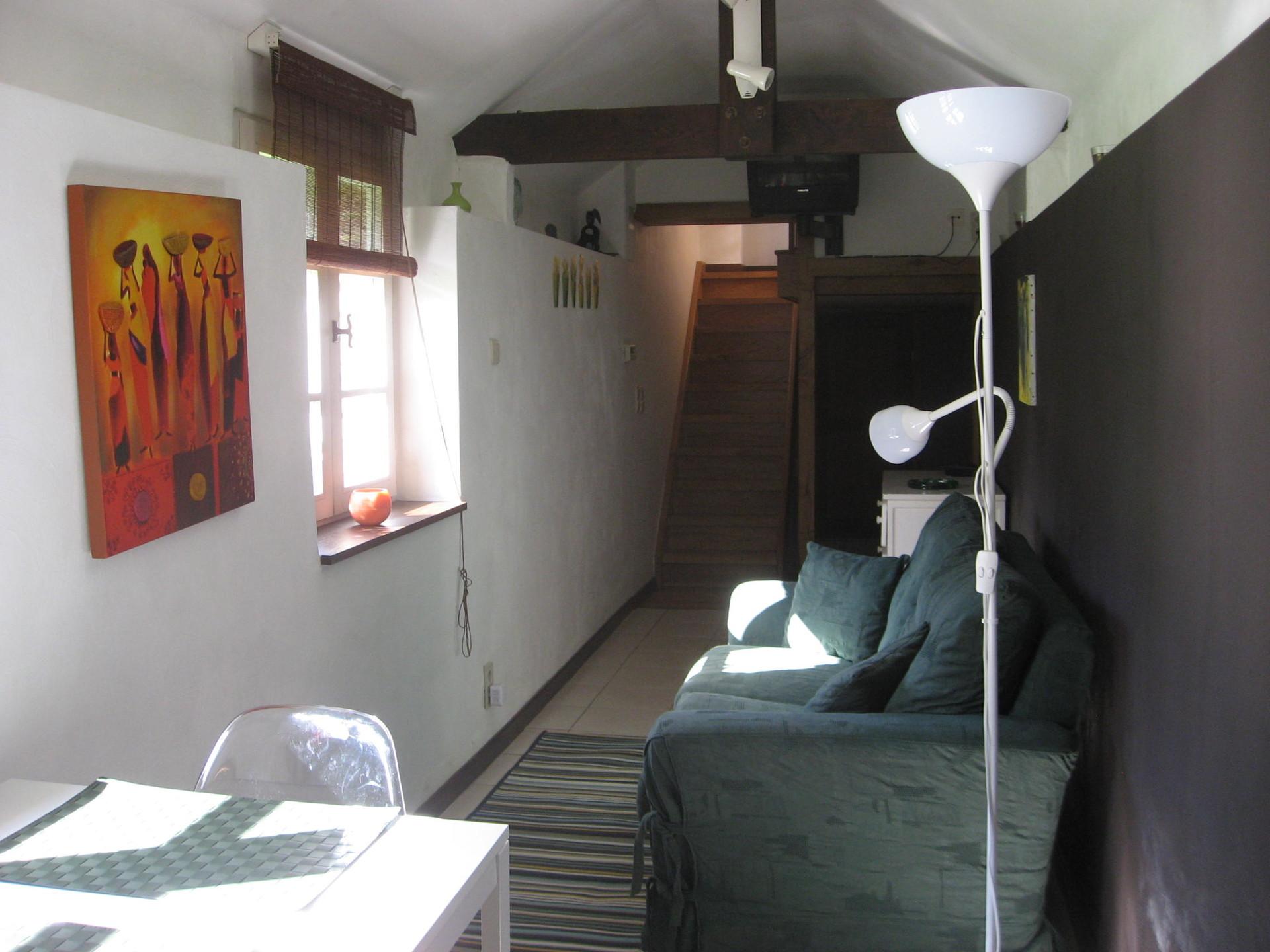 Appartement m meuble dans propriete boisee