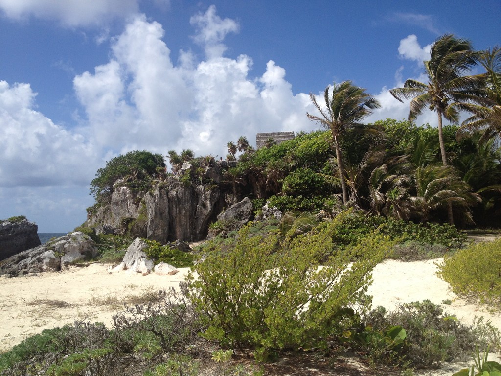 Archaeological ruins in Tulum, a great place to get to know