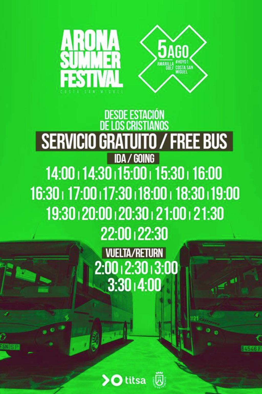 Arona Summer Festival, ¡El festival más grande de Canarias!