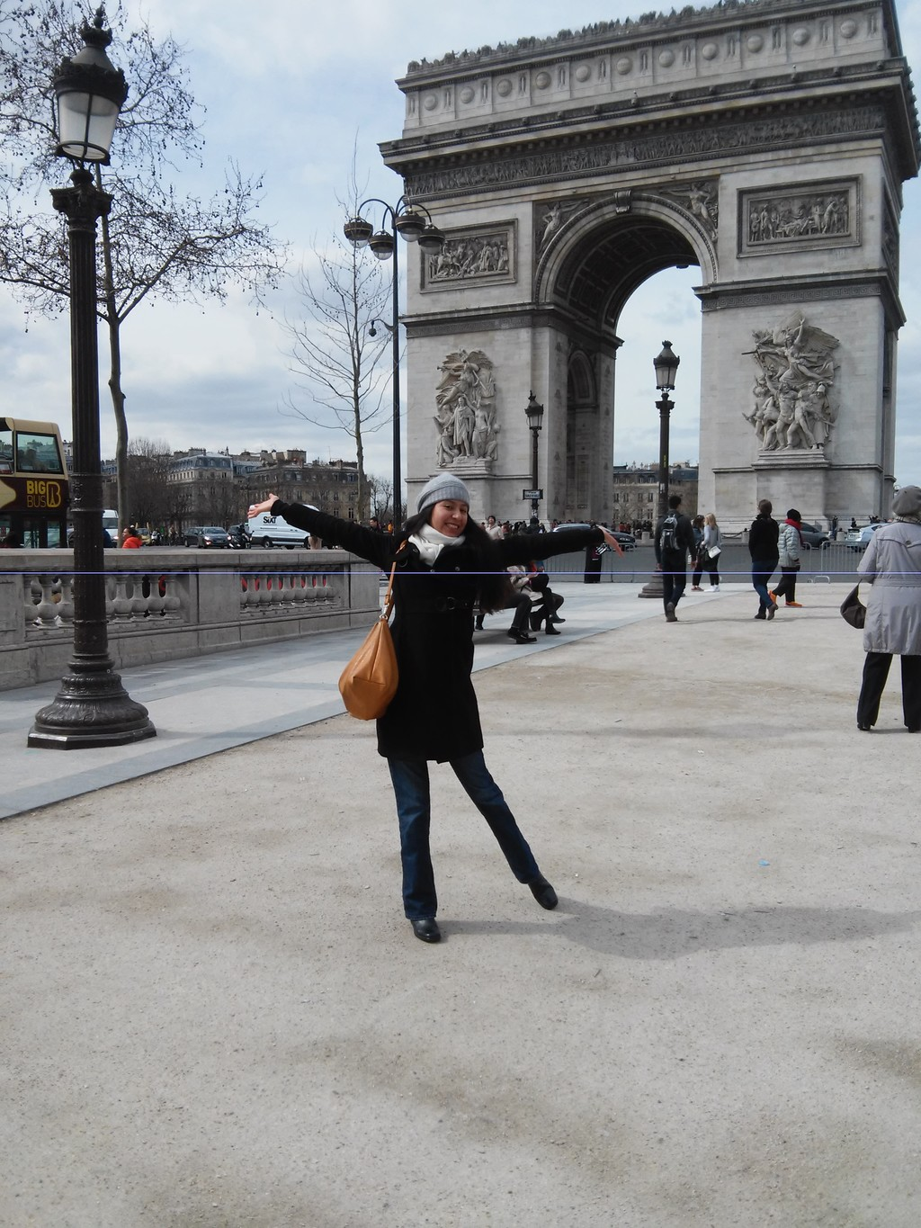 At the top of the Arc de Triomphe: Paris from a different perspective