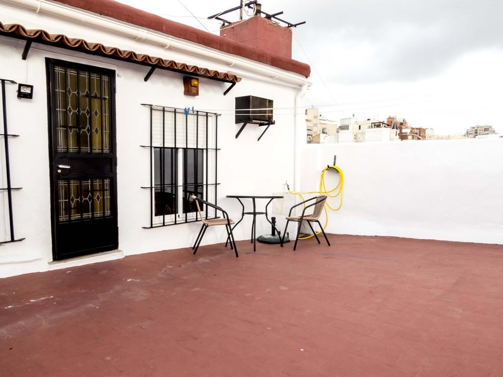 Atico Doble Con Terraza En El Barrio Del Carmen De Valencia