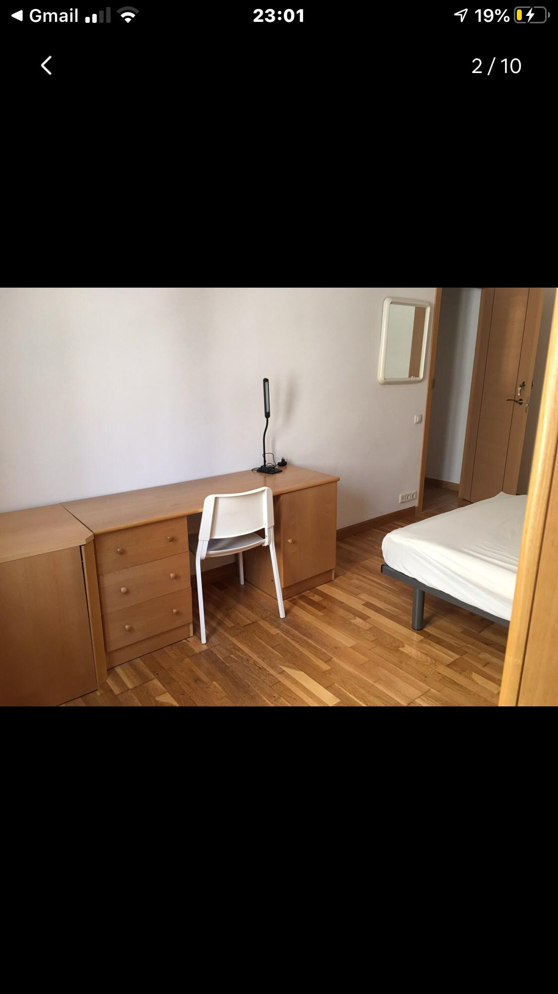 Room A es muy amplio y silencio limpio recen renov