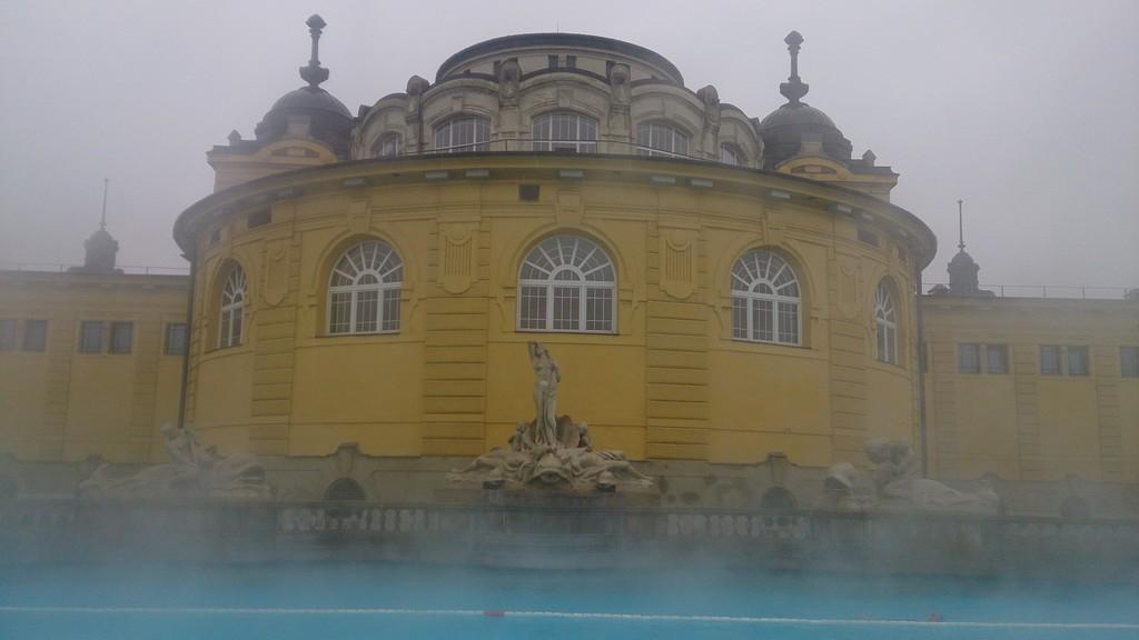 Baños termales Széchenyi en Budapest