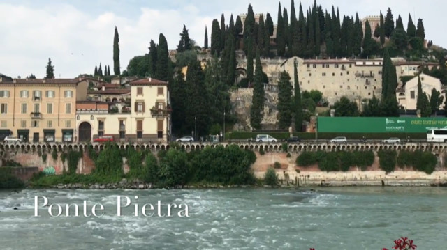 Bar La Terrazza And Ponte Pietra What To See In Verona