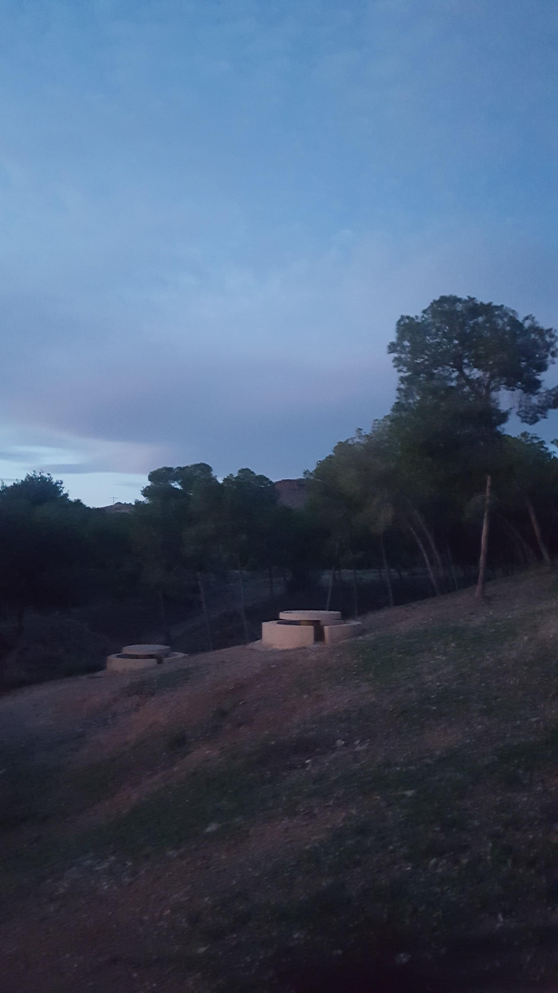 Barbecues à l'air libre à Murcie.