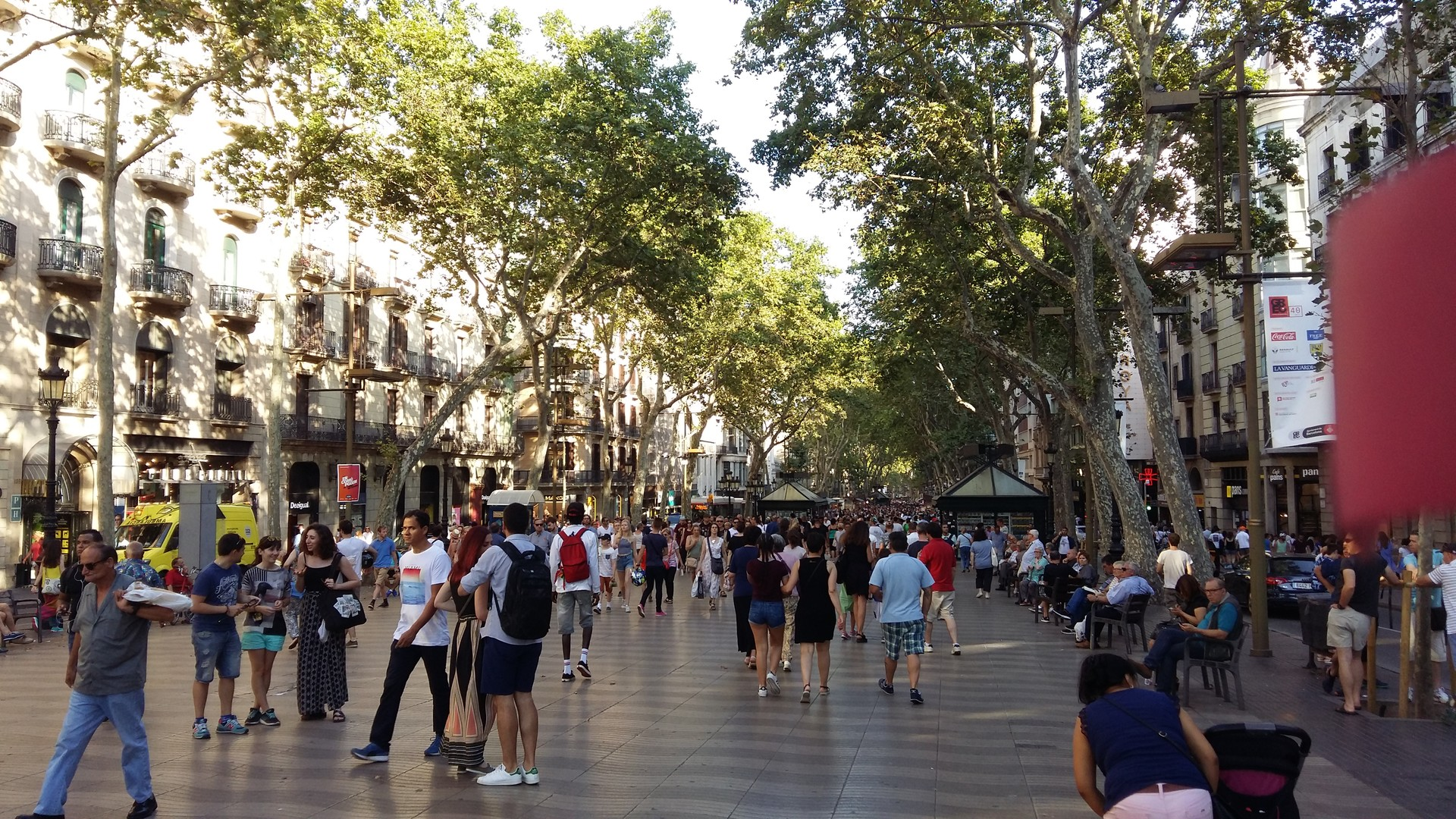Barcelona en metro