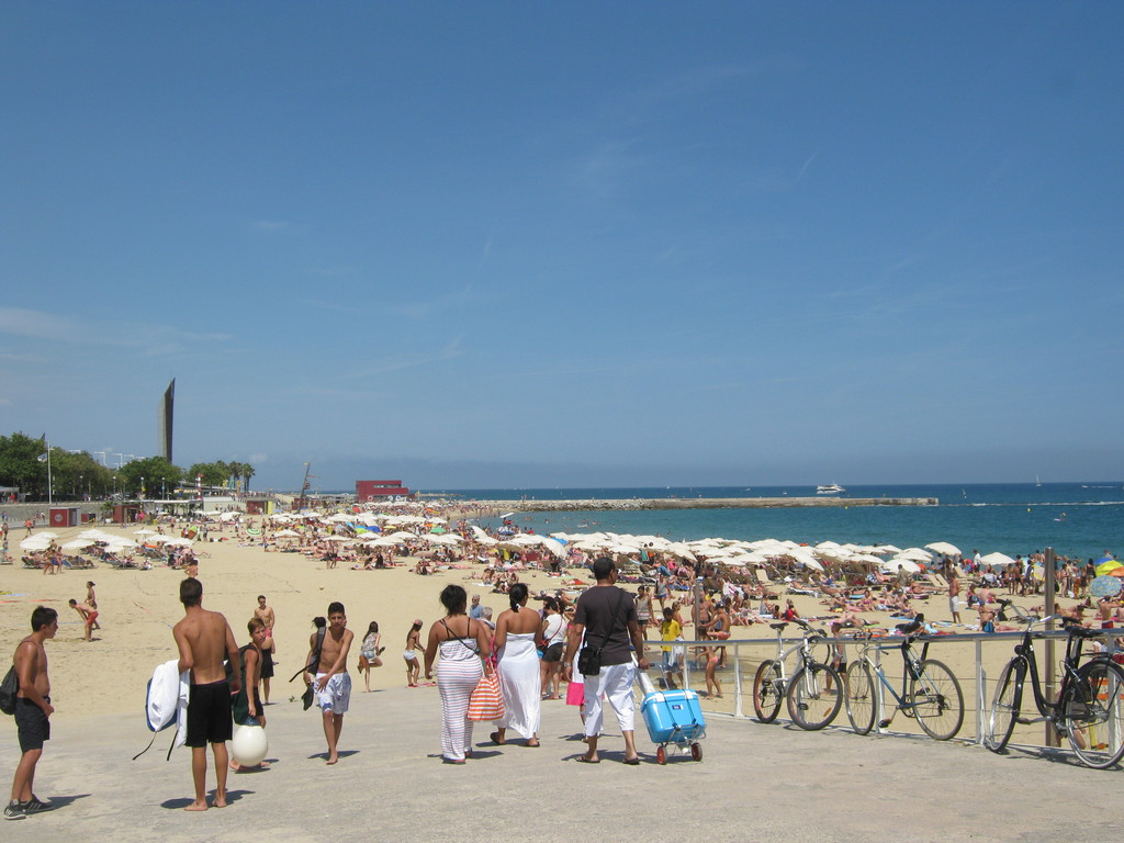 Barcelona, Playa, Bogatell, Brillante