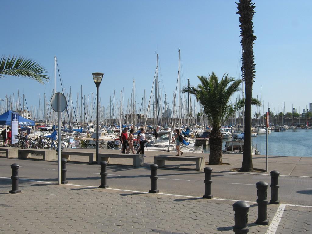 Barcelone, plage, Bogatell, génial