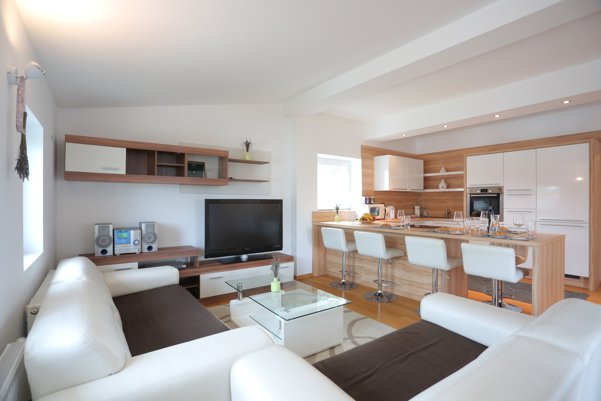 Beautiful apartment with castle view in peaceful area in Ljublja