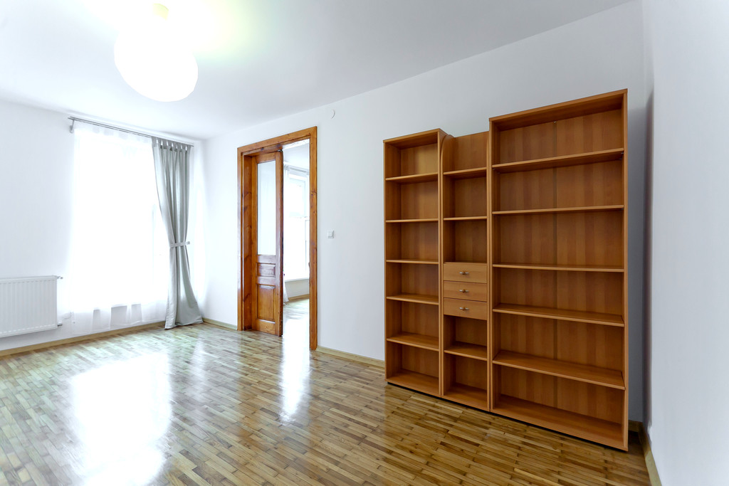 beautiful apartment bedrooms. Two seperated bedroo Beautiful apartment with view on the Wawel  bedrooms