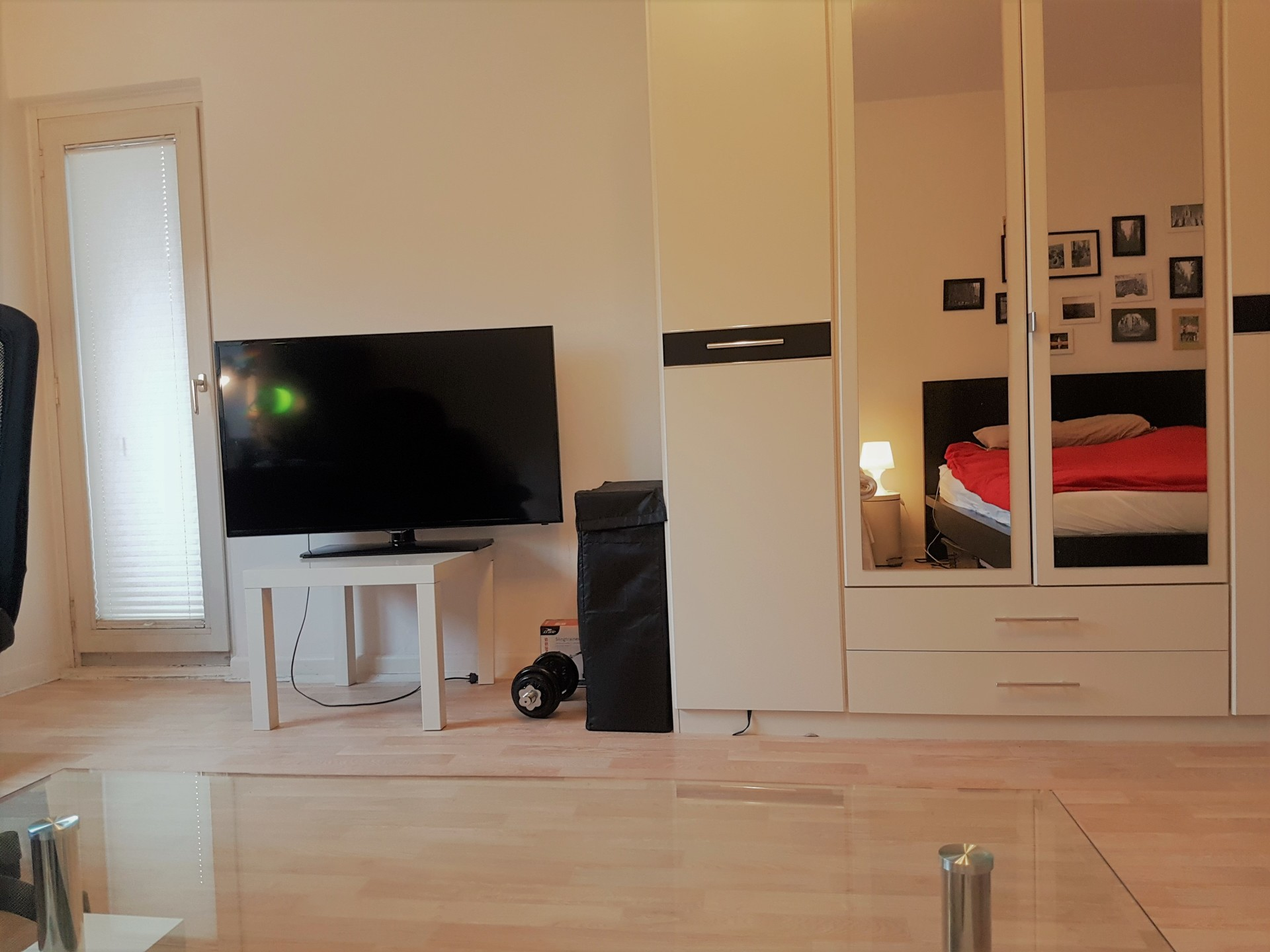 beautiful, bright furnished room in perfect location