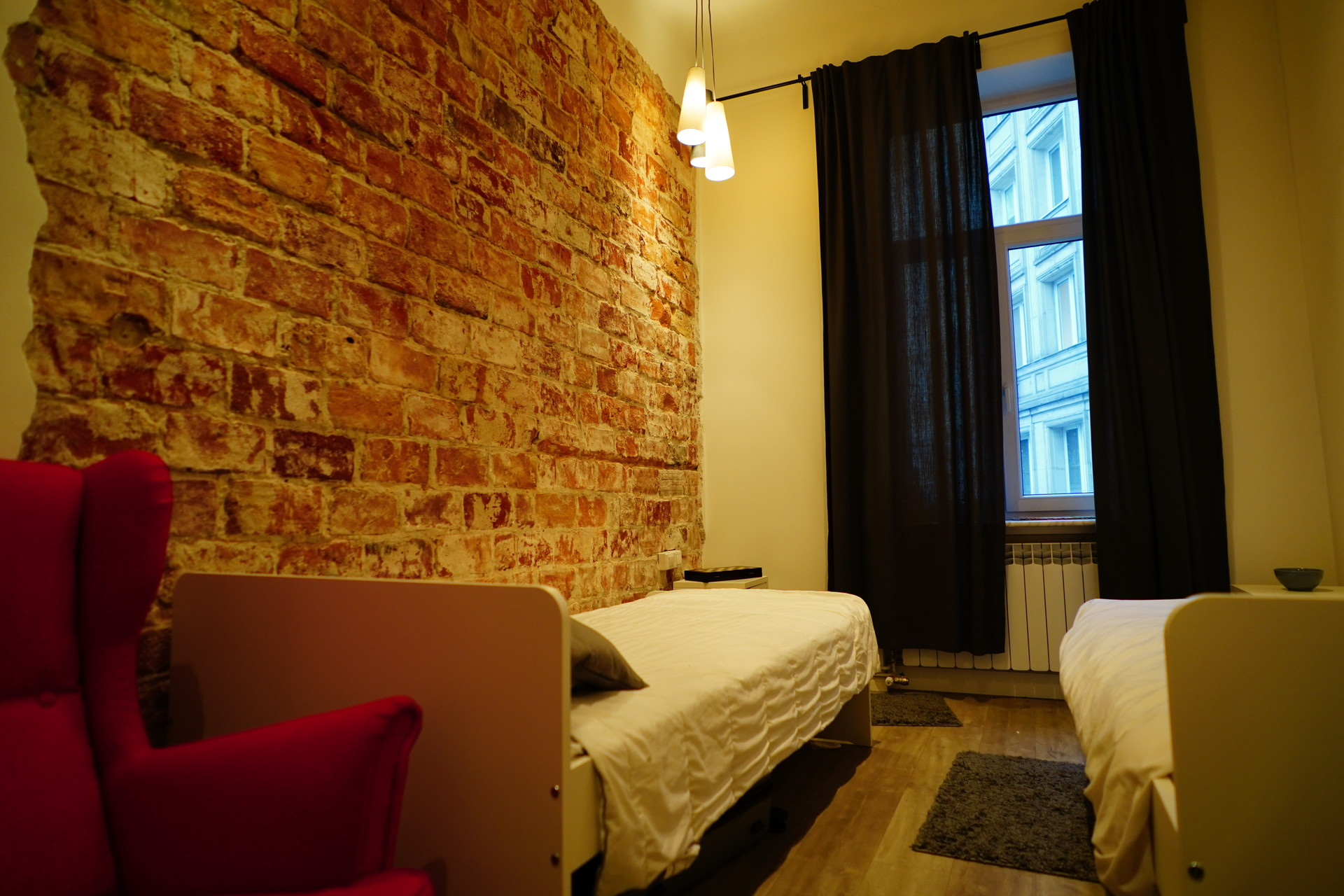Bed in double room BEST location
