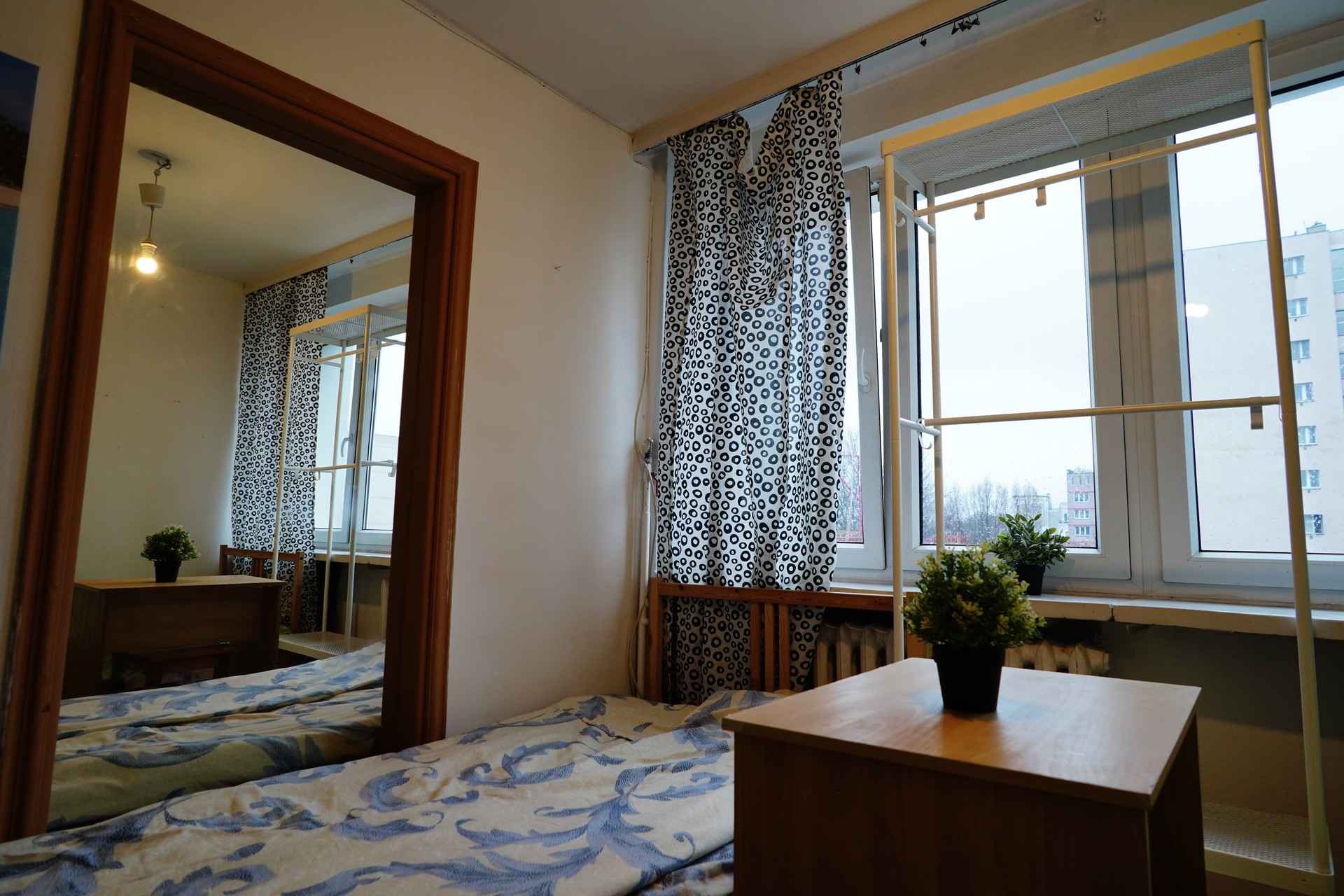 Bed in double room close to city center