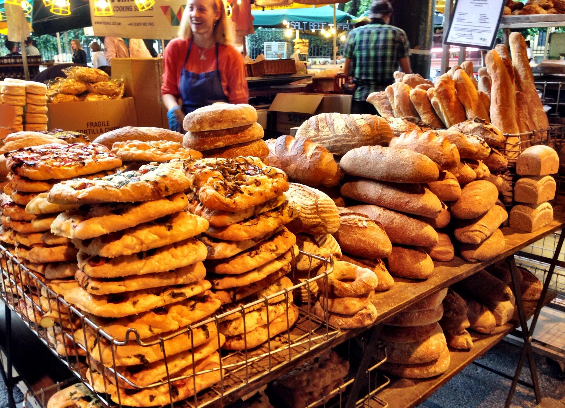 Best food market in London!