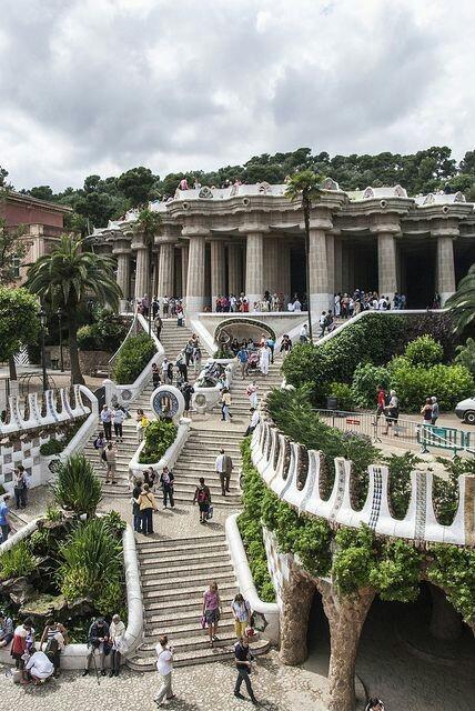 Betorverend Güell Park