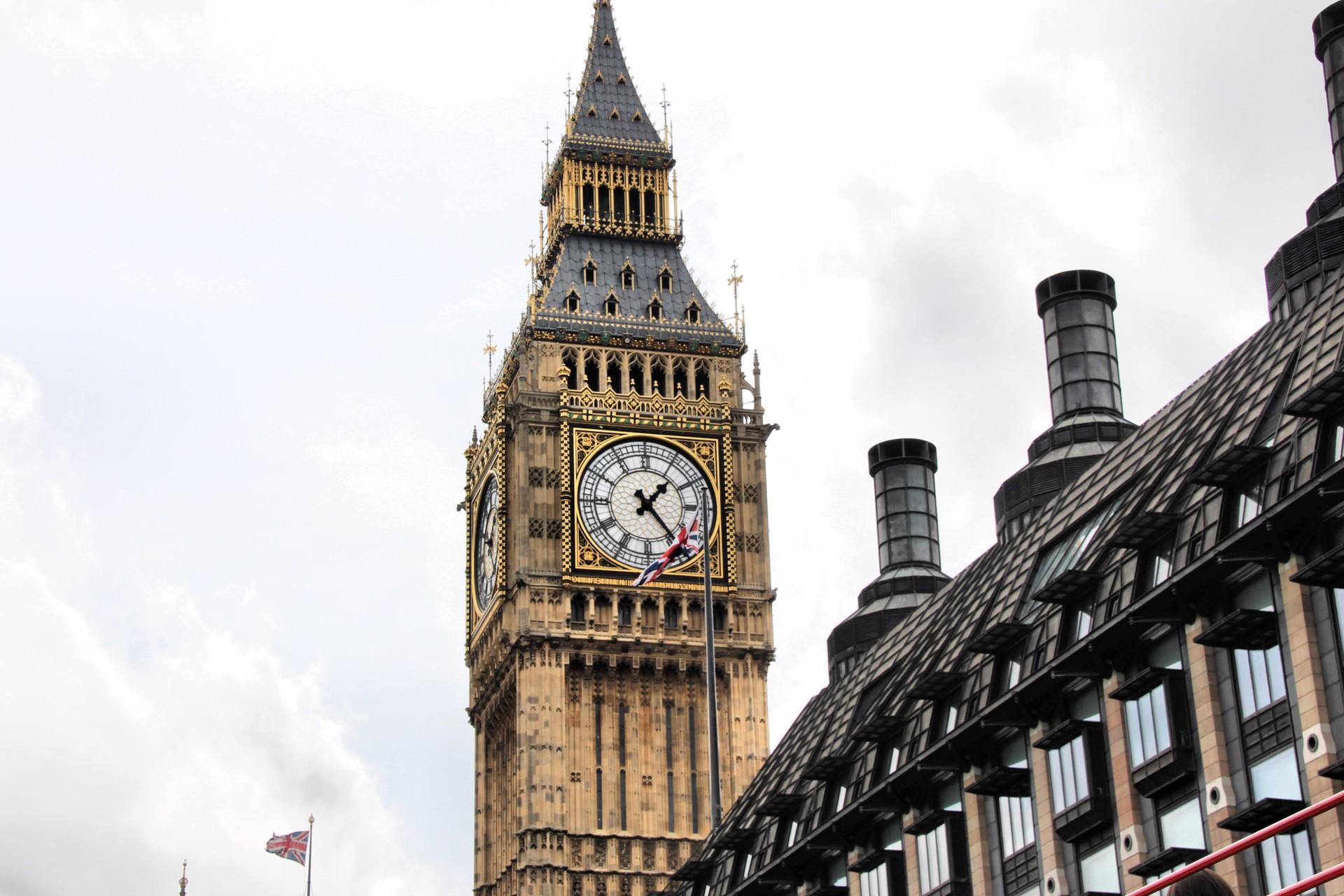 El Big Ben London Foto De Stock © Janka3147 45070809
