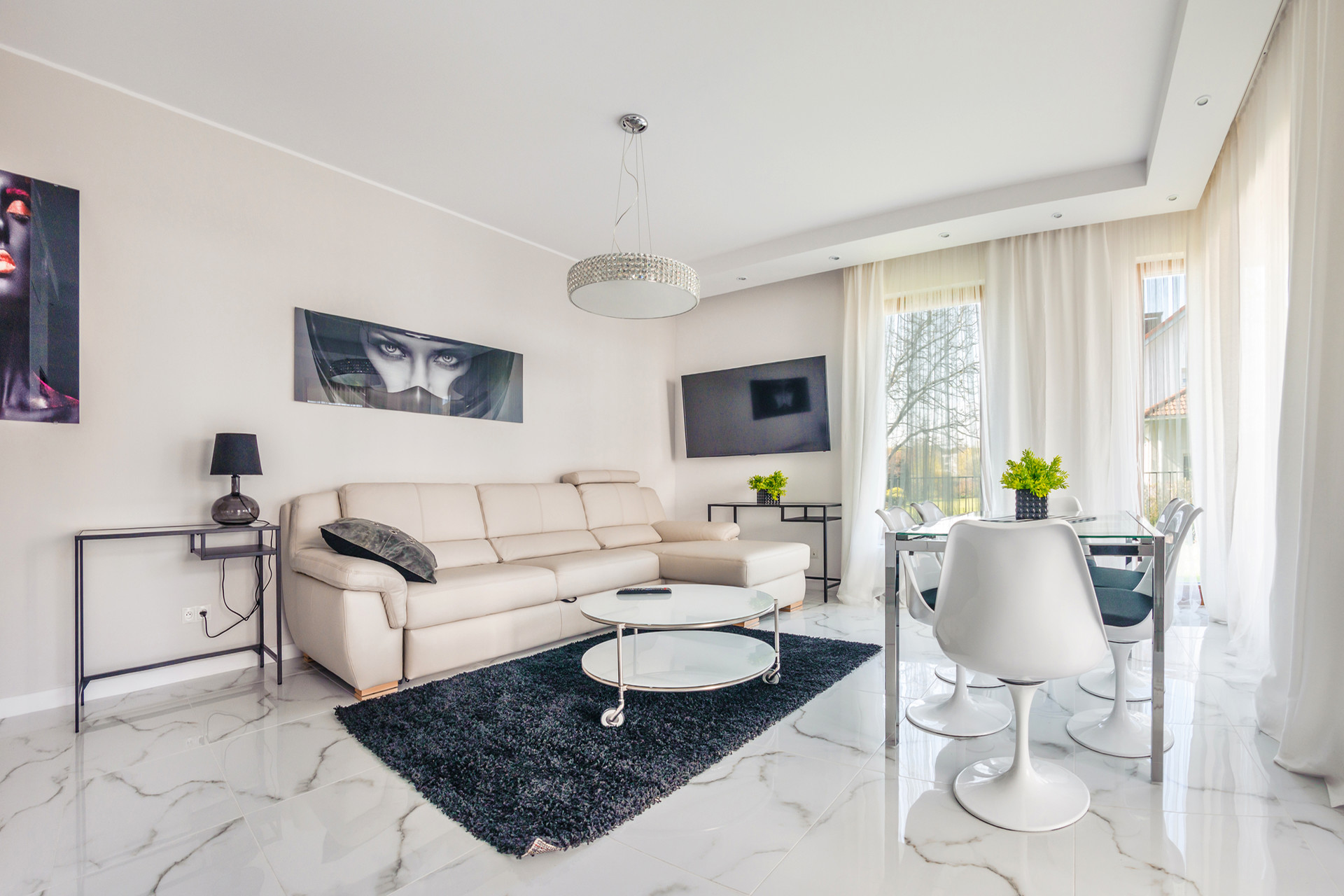 Big and bright apartment with huge garden in Gdańsk! | Flat rent Gdansk