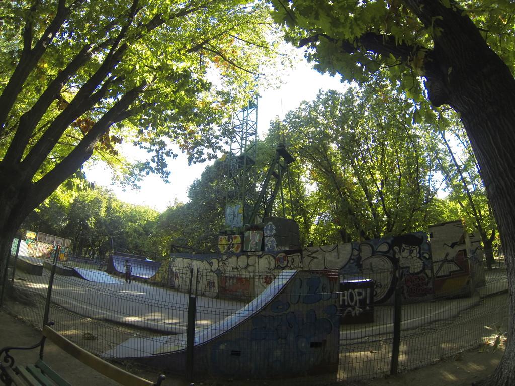 Biggest Park in Bucharest, Romania.