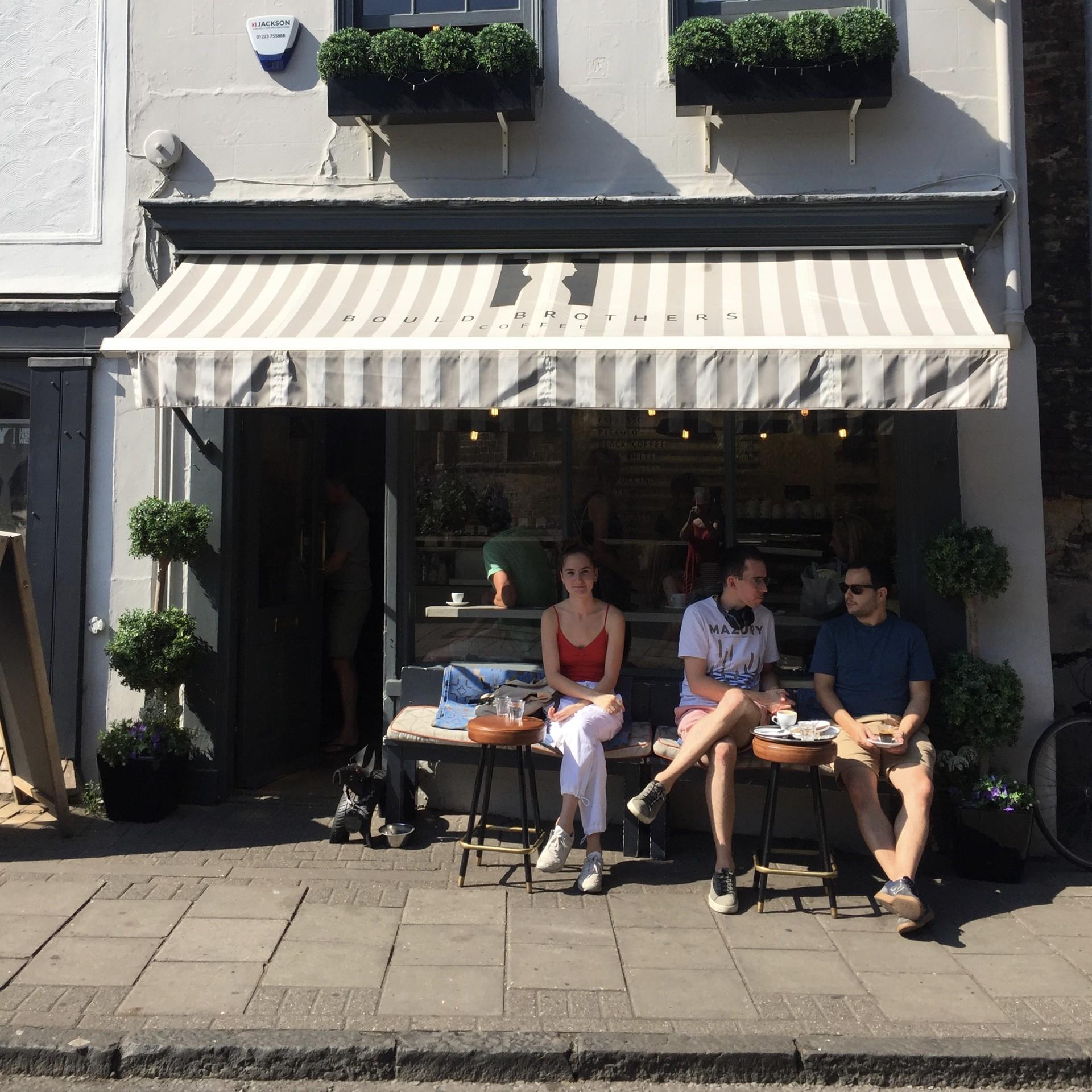 Bould Brothers: la cafetería más chic de Cambridge