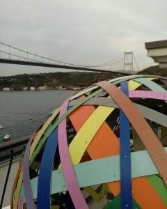 Breathtaking Selfie Location in Istanbul ~ Works of Art and Bosphorus View