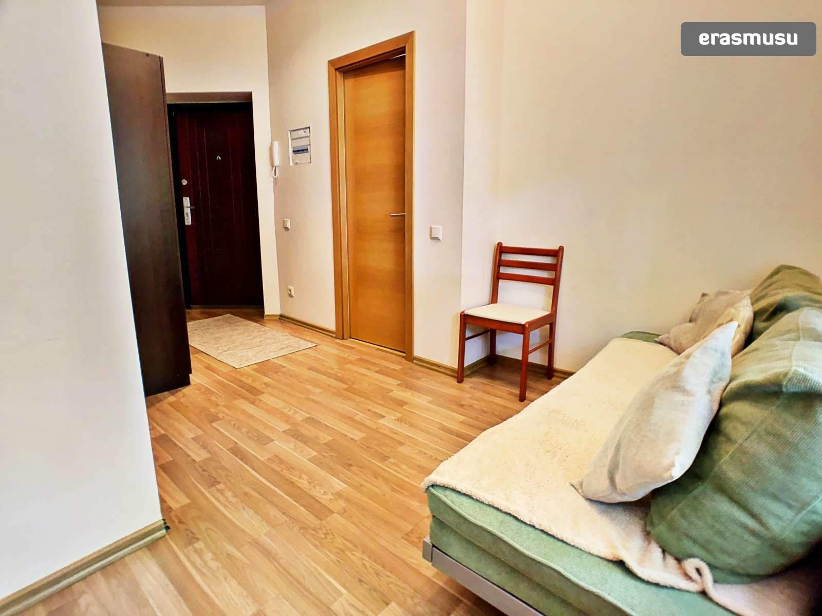 Bright 1-bedroom apartment for rent in Maskavas Forštate