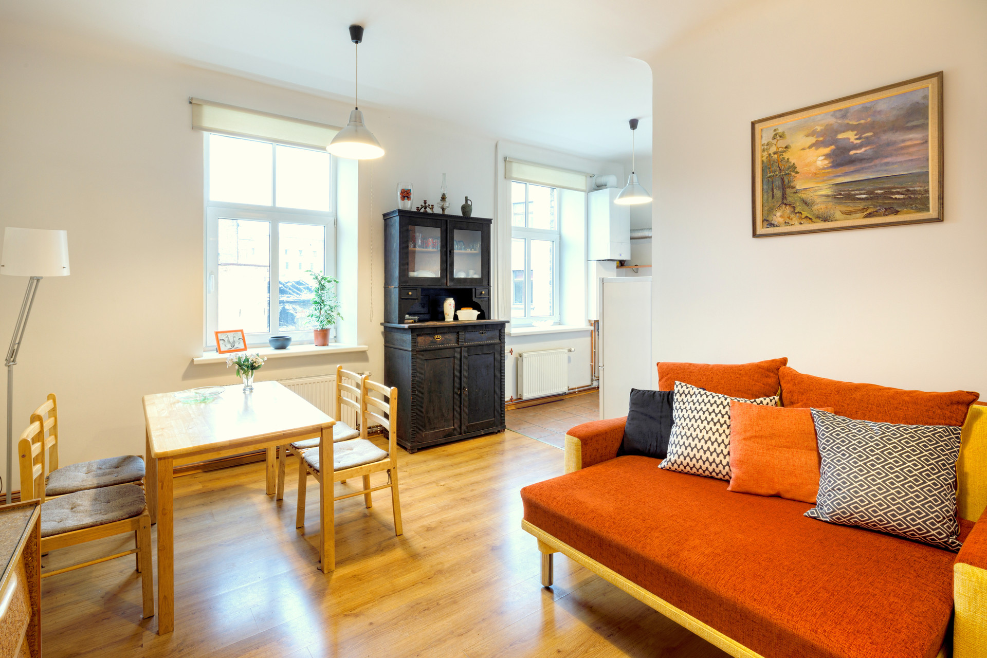 Bright 1-bedroom apartment for rent in Riga center | Flat ...