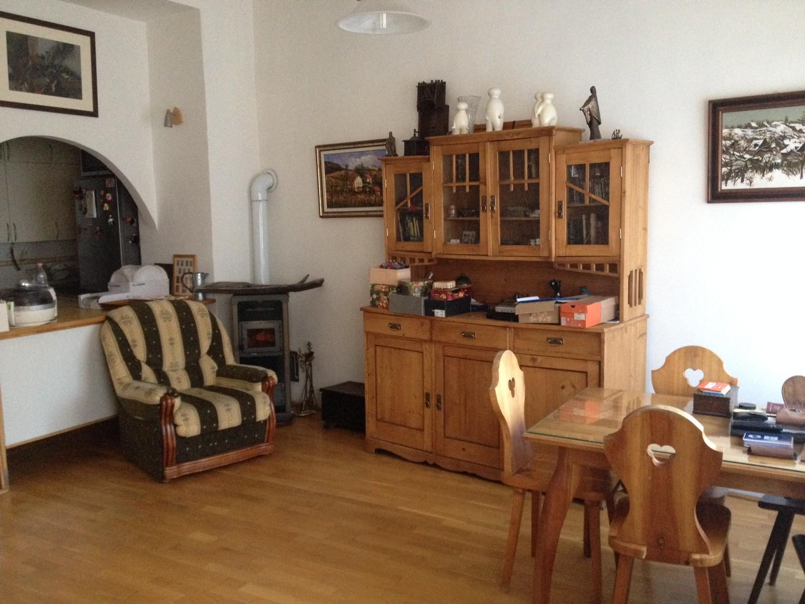 Bright apartment interior in Budapest