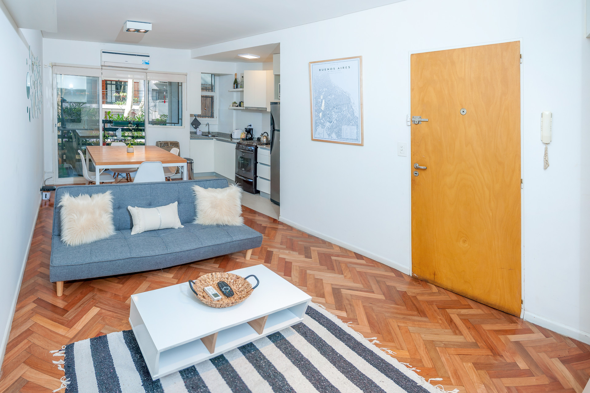 Buenos Aires Palermo Fully Furnished One Bedroom Apartment Flat Rent Buenos Aires
