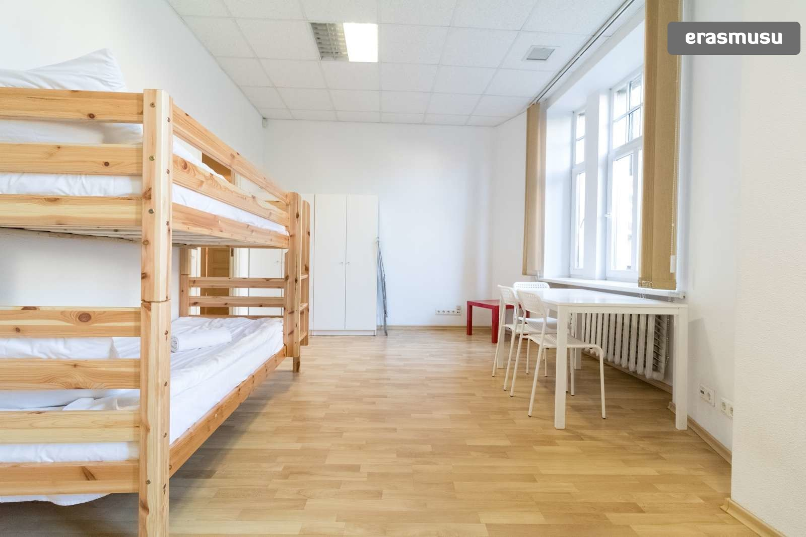 Bunk Beds In Rooms For Rent In 6 Bedroom Apartment In Centrs Room For Rent Riga