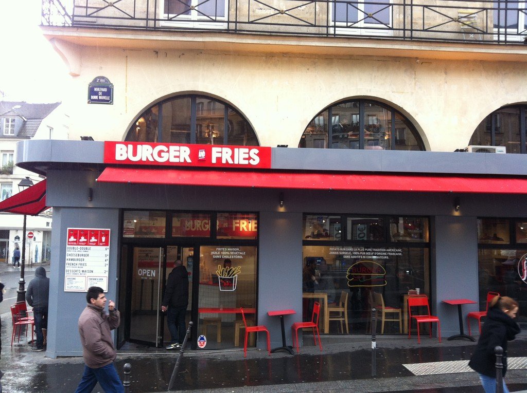 BURGERS & FRIES PARIS