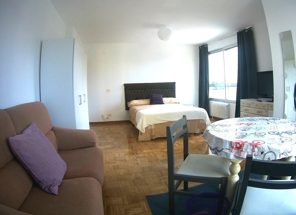 Amplisima habitación tipo suite céntrica, con todo
